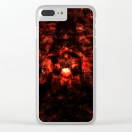 To hell and back we go... Clear iPhone Case