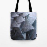 origami Tote Bags featuring Origami by Sasha Hocking / Adam Phillips