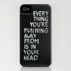In your head iPhone (4, 4s) Slim Case