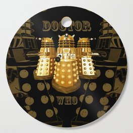 Doctor Who Said Ex Cutting Board