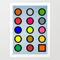Why a Square? Art Print