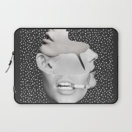 collage art / Faces 2 Laptop Sleeve