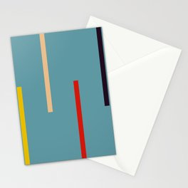 Abstract Classic Stripes Mirian Stationery Cards