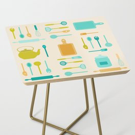 AFE Kitchen Utensils Pattern II Side Table