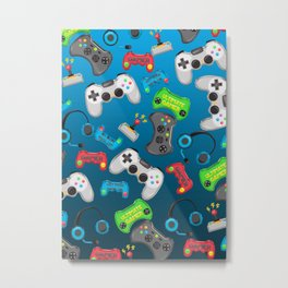 Video Games Metal Print