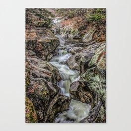 Sculptured Rock Canvas Print