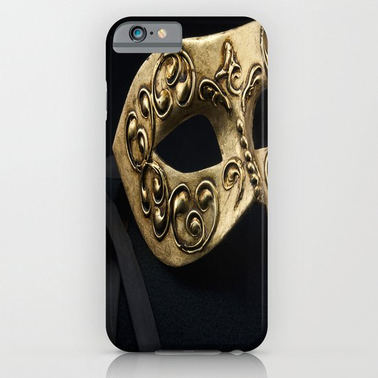Behind The Mask iPhone & iPod Case