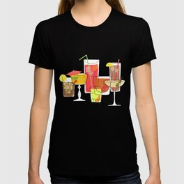 Swanky Summer Coolers T-shirt