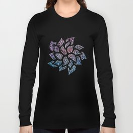 Floral Abstract 21 Long Sleeve T-shirt