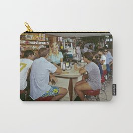 All Star Motel Coffee Shop in Wildwood, New Jersey. 1960's photograph Carry-All Pouch