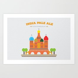 IPA Art Print
