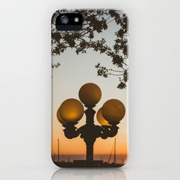 Sunset in Newport iPhone Case