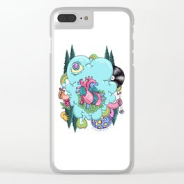 Cloud Warrior Clear iPhone Case
