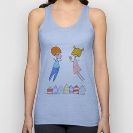 Let's go to the beach! Unisex Tank Top