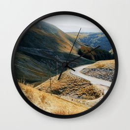 On the Road #1 Wall Clock