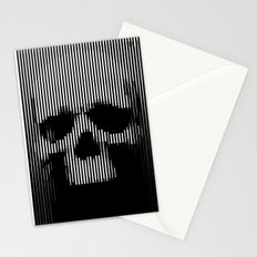 Skull Lines Stationery Cards