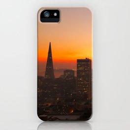 San Francisco Sunrise iPhone Case