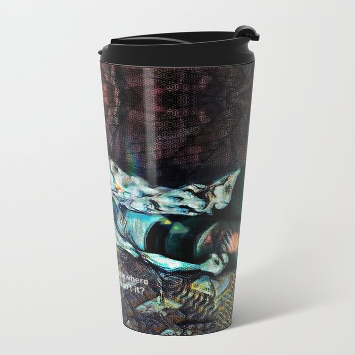 Lies From The Past Metal Travel Mug
