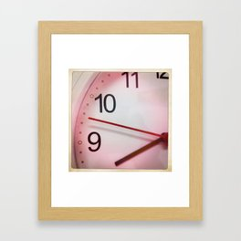 Whats the Time? Framed Art Print