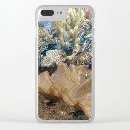 Undersea life Clear iPhone Case