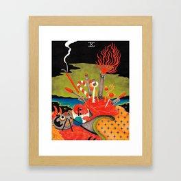 Ten of Hoards Framed Art Print