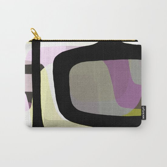 Mid Century Abstract 1 Carry-All Pouch