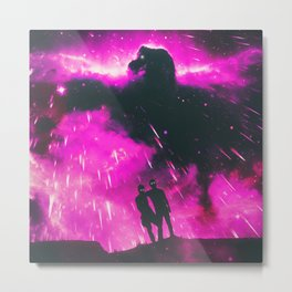 HOLD STRONG Metal Print