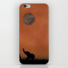 Elephant Sahara iPhone Skin