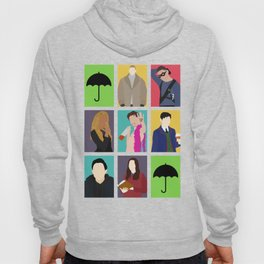 The Umbrella Academy Color Drawings Hoody