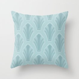 Mid-Century Modern Shell Throw Pillow