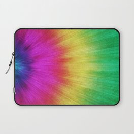 Colorful Starburst Tie Dye Laptop Sleeve