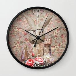 Lady Bunny WTF Wall Clock
