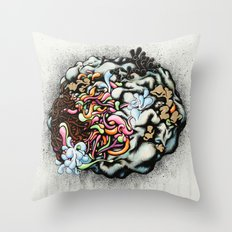 Isolating the Collective Unconscious Throw Pillow