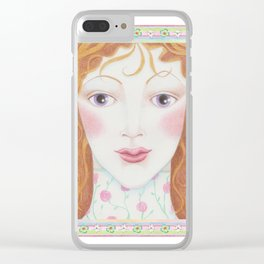 Rosella Clear iPhone Case