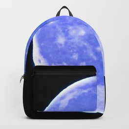Icy Blue Moon Backpack