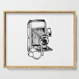 Camera. Serving Tray