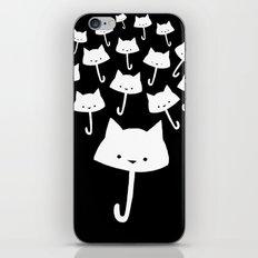 minima - cat rain iPhone & iPod Skin