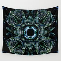 square Wall Tapestries featuring Square by GC