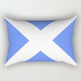 flag of scotland 4– scotland,scot,scottish,Glasgow,Edinburgh,Aberdeen,dundee,uk,cletic,celts,Gaelic Rectangular Pillow