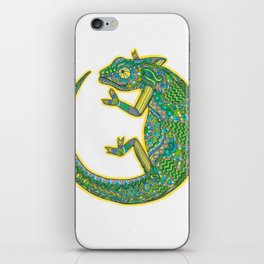 Quirky Chameleon iPhone Skin