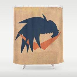 Minimalist Kamina Shower Curtain