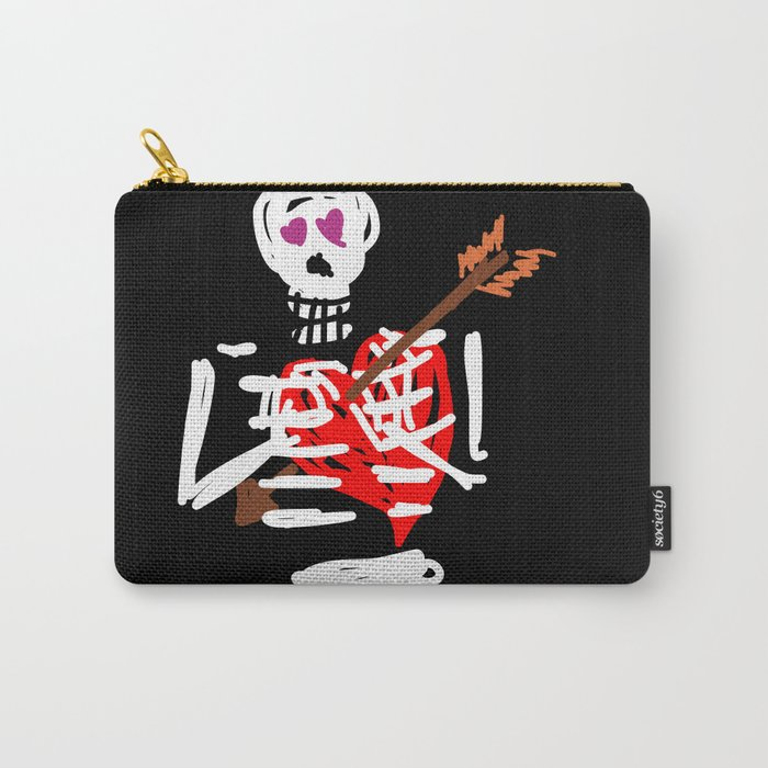 Die trying valentine Carry-All Pouch