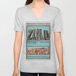 Classic Movie Poster - Zulu Unisex V-Neck