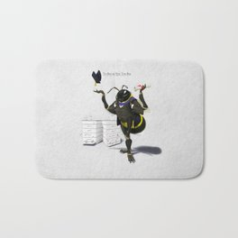 To Bee or Not Too Bee Bath Mat