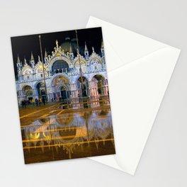 Italy. Venice at night Stationery Cards