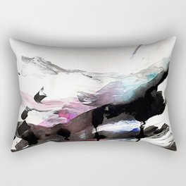 """Day 6: """"I'll take a regular-medium with a shot of joy and a touch of wonder."""" Rectangular Pillow"""