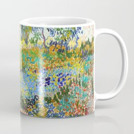 Vincent van Gogh - Garden At Arles, Flowering Garden With Path - Digital Remastered Edition Coffee Mug