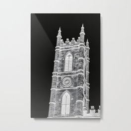 inverted church tower Metal Print