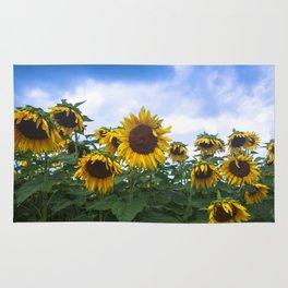 Nodding Sunflowers Rug