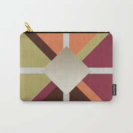 Colors Triangles Carry-All Pouch